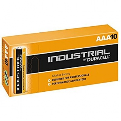 Baterijos Duracell Industrial AAA, 10vnt.