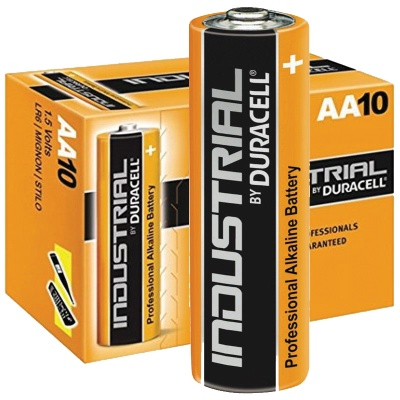 Baterijos Duracell Industrial AA, 10vnt.