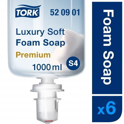 Muilas putomis Tork Luxury Soft S4, 1000ml